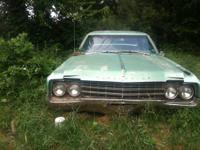 This old 1965 Oldsmobile nine - eight is very clean nd