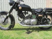 This is a 1965 Panther Model 120 with a spring frame.