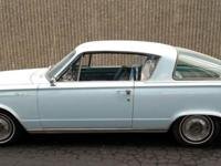 This is an all original 1965 Plymouth Barracuda