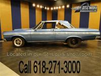 1965 Plymouth Belvedere drag car. This is an original