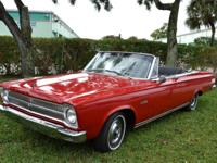 1965 Plymouth Satellite Convertible.  -Classic MOPAR
