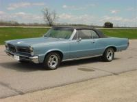1965 Pontiac Tempest convertible. Older restoration