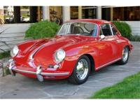 1965 Porsche 356 SC Coupe VIN: 219-461 Engine: 812 744