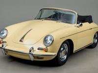 1965 Porsche 356 Cabriolet VIN: 161539 Originally