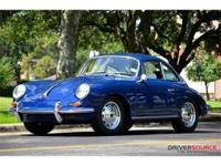 This 1965 Porsche 356SC 2dr Coupe . It is equipped with