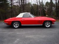 1965 Corvette Roadster 327 with automatic transmission.