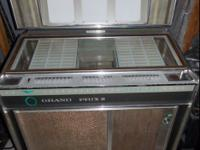 1965 ROCK-OLA 426 Grand Prix II juke box. In working