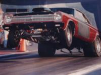 1965 Satellite Hemi race car, I own it for 39/yrs and