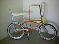 Real nice Schwinn Deluxe Stingray. Built in June 1965.