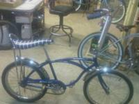 classic schwinn stingray older restoration dark