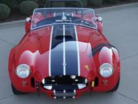This is a 1965 Shelby 427 S/C Cobra roadster. It is a