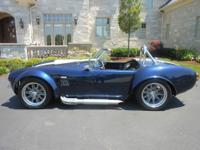 !965 Shelby Cobra replica. Built by Midwest Cobras in