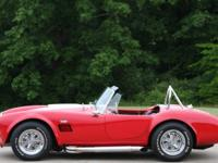 Call  or email sales@mcgohio.com 1966 Shelby Cobra