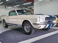 1 of 562 Shelby GT350s Built in 1965 Aluminum T-10