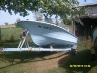 1965 starcraft  14 footer closed bow 28 horse johnson