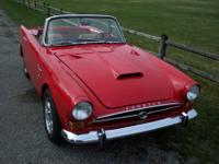 1965 Sunbeam Tiger Mark 1 {one of 3,762 Mark 1 Tigers