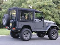 ICON FJ40 in as new condition .  Truck has 3,800 miles