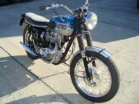 This Triumph was constructed by a popular restorer and