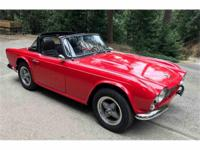 Year : 1965 Make : Triumph Model : TR4 Exterior Color :