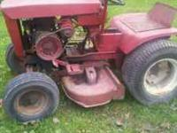 hi i have a 1965 wheel horse tractor and runs but needs