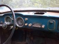 1965 vw karmann ghia with orig radio, bumpers, motor