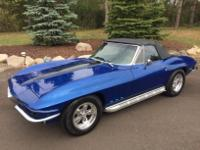 1965 Chevrolet Corvette Convertible   Ground Up