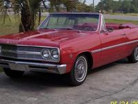 1965 Chevelle Malibu Conv Rebuilt 283 & AT, Alum Rad