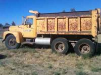 10 yard, 1965 International Dump Truck. R190 Series,