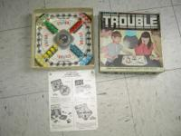 Selling my 1965 trouble board game in played w/