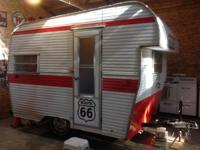 1966 13' All Star Coach vintage camping trailer. Great