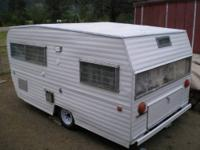 MUST SELL MY 1966 CLASSIC TRAVEL TRAILER. TRAILER IS 15