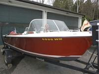 1966 17 ft Correct Craft Barracuda Super Sport 100%