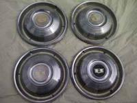 this is a set of old chevy caps from 66-67, 25 bucks