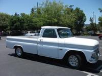 1966 Chevrolet 3/4 ton fleetside total rebuild. Paint