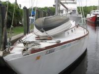 1966 Columbia Sailboat 38' Extendable keel $10,000
