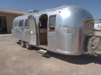 Airstream Overlander Land Yacht. This is the double bed
