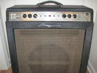 For sale is a '66 Ampeg Gemini in very good working