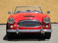 1966 Austin Healey 3000 BJ8 for sale from Left Coast