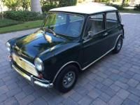 THIS RARE 1966 AUSTIN MINI COOPER S WAS IN PRODUCTION