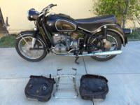 1966 BMW R60 - R60/2. All (3) Matching Numbers on