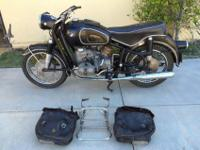 1966 BMW R60/2 Matching NumbersFor a faster respond