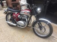 This is a barn find, a PRISTINE 1966 BSA Thunderbolt /