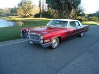 1966 CADILLAC COUPE DEVILLE - VERY RARE CAR-GORGEOUS