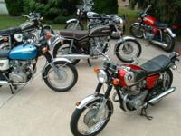 for sale old vintage Japanese motorcycles-- honda ----
