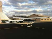 1966 Cessna 172G, 3550 TT, 1260 SMOH Bush 180 hp Engine