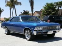 1966 CHEVY CHEVELLE SS 396. Although not a TRUE SS 138