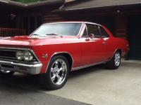 Very good 1966 Chevelle SS. Frame off restoration 10