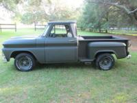 This 1966 Chevrolet C10 truck has just gone through a