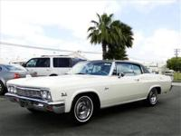 1966 CHEVROLET CAPRICE COUPE, BIG BLOCK L36 396/325hp