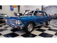 Check out this brilliant blue 66' Chevelle 300. Packing